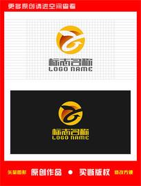 ZY字母YZ标志飞鸟logo