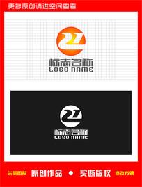 Z字母e标志数字21logo