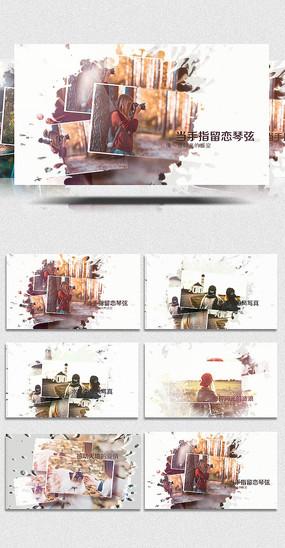 EDIUS水墨中国风写真展示