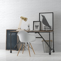 工业风办公桌椅