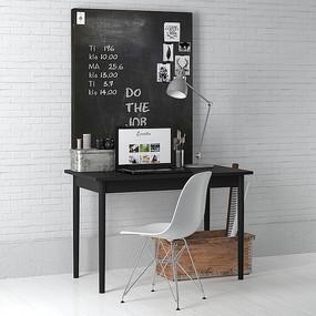 黑色宜家风学习桌