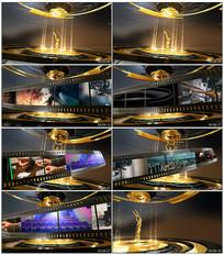 金色大气国际电影节片头模板