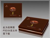 月饼巧克力盒包装设计