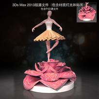 芭蕾舞美陈装饰DP点