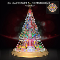 玻璃圣诞树