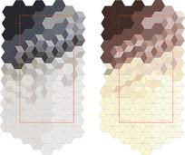 渐变几何图案底纹背景素材矢量