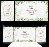 绿色婚礼图片