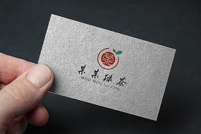现代中式茶叶创意logo设计