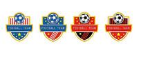 学校足球队队徽设计 CDR