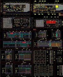 高端售楼装饰图CAD