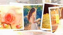 会声会影唯美婚礼写真相册模板