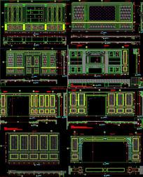展厅整木深化CAD