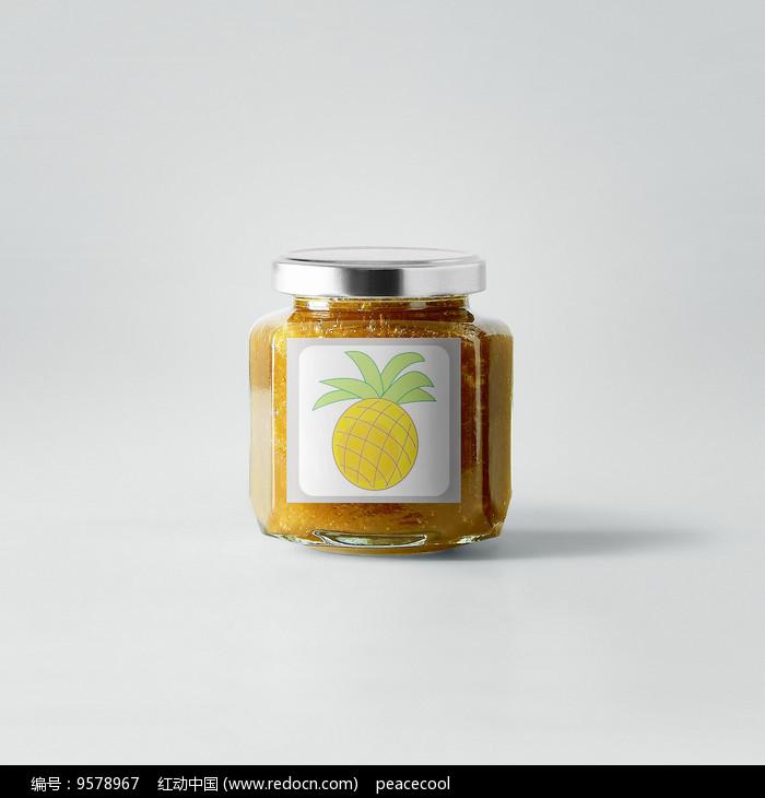 菠萝果酱图片