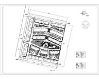 多层小区规划平面图 dwg