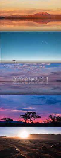 航拍自然界视频
