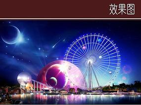 游乐设施景观效果图 JPG