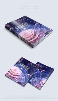 紫色高档最新封面设计