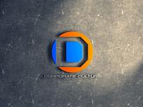 D英文字母标志设计 AI