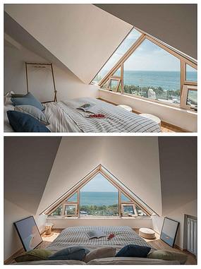 海景房地中海风格卧室