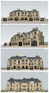 法式多联排建筑