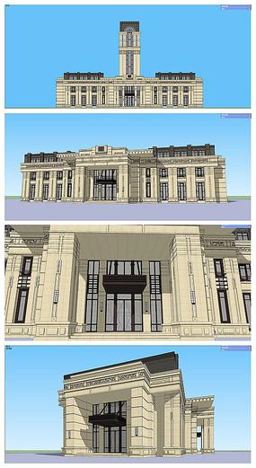 法式会所建筑设计方案会所