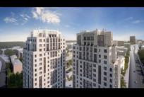高层建筑效果图 JPG