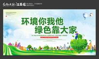 环境保护宣传展板设计