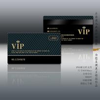 简洁现代感VIP卡设计模板