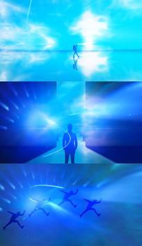 歌曲像风一样自由舞台背景视频