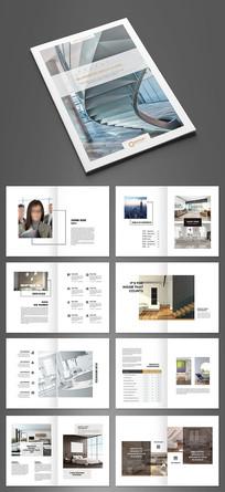 简约现代家居画册设计模板