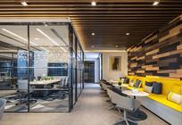 办公室透明会议室效果