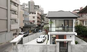 日式建筑室外效果图