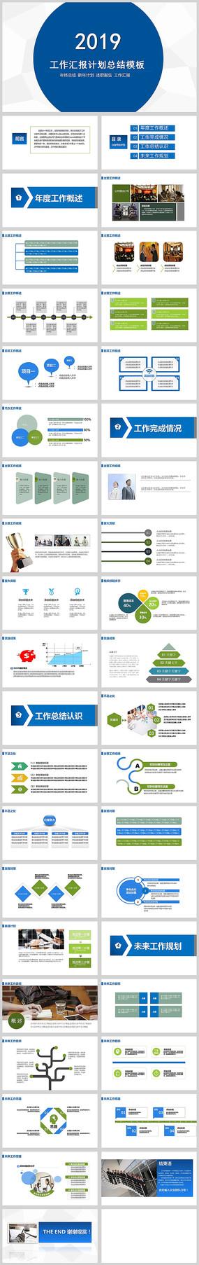 商务计划总结PPT模板