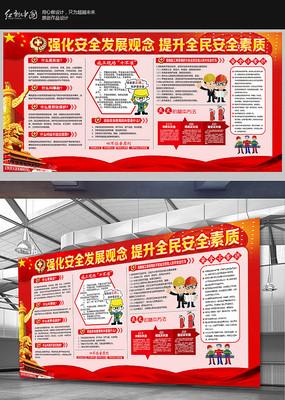 大气安全知识展板设计