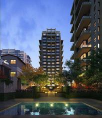 高层住宅小区景观
