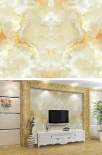 高端大气富贵大理石电视背景墙