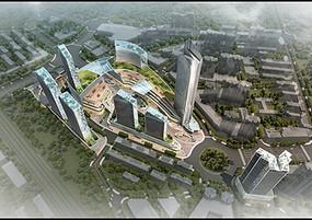 购物中心鸟瞰图 JPG