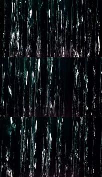 黑背景水流实拍视频素材