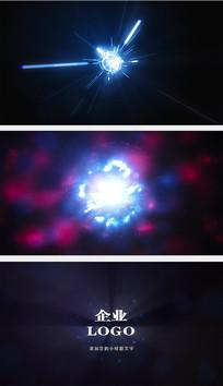 粒子能量球爆炸AE模板