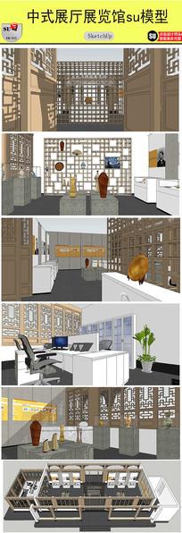 中式展厅展览馆