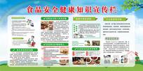 食品健康宣传展板