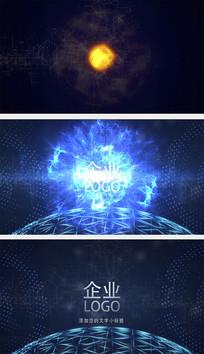 震撼科技爆炸片头AE模板