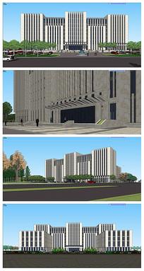 办公楼现代风格
