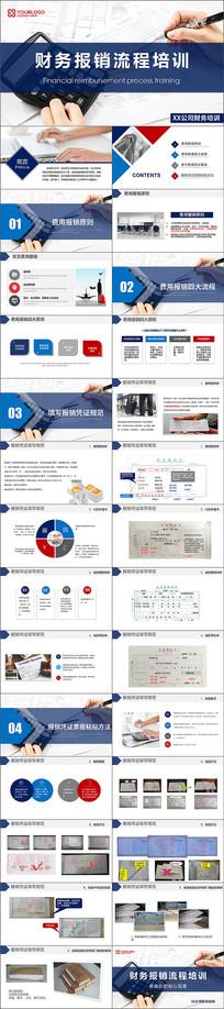 财务报销流程培训ppt模板
