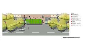 城市交通站台平面设计