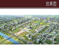 城市中央景观效果图 JPG