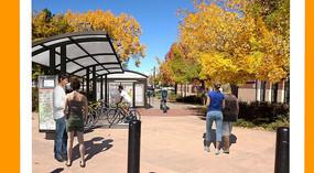 公共自行车停车场