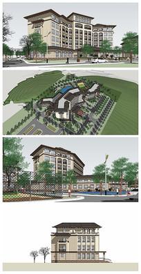欧式酒店环境设计规划