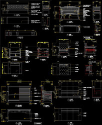 沙发CAD图 CAD