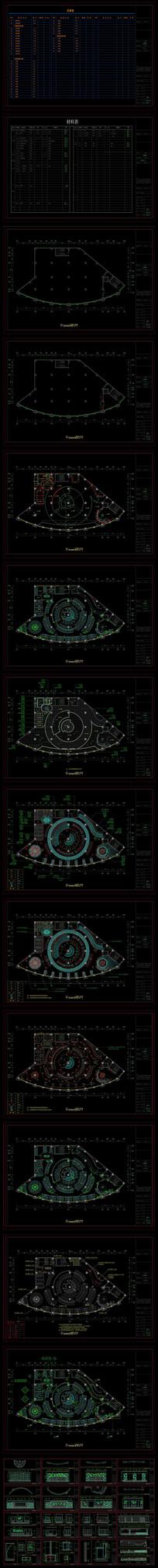 网咖网吧装修CAD设计方案